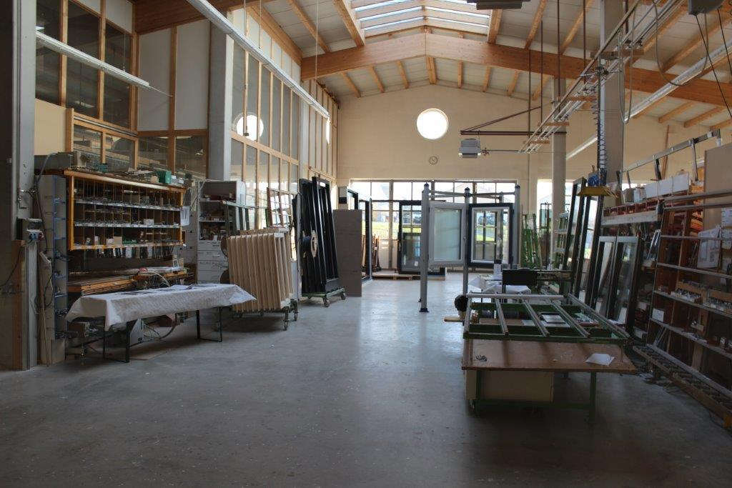 Unsere Produktionshalle in Frauenneuharting